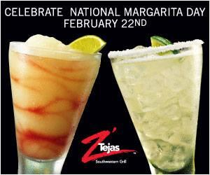 National Margarita Day is almost here -who wants FREE Z'Tejas for a Year?! Enter at http://t.co/J69I9WNf02 http://t.co/qItXClOYie
