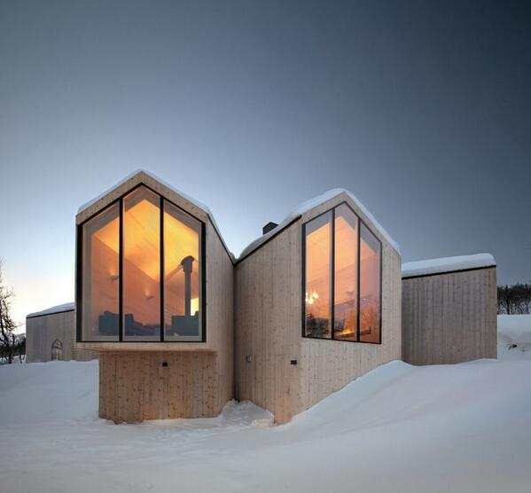 Ski House in Buskerud, Norway by Relulf Ramstad architects http://t.co/2n4D8J7SYa