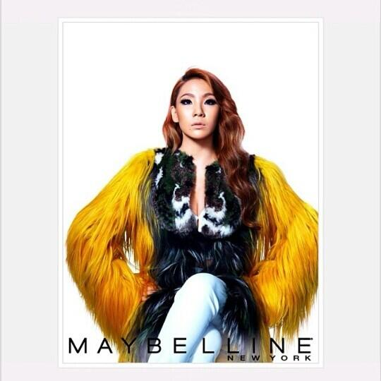 CL先生さすがです!!!!!!!!最高♡♡♡THE NEW QUEEN OF MAYBELLINE NEW YORK♡♡♡ http://t.co/TqNvuiwofh