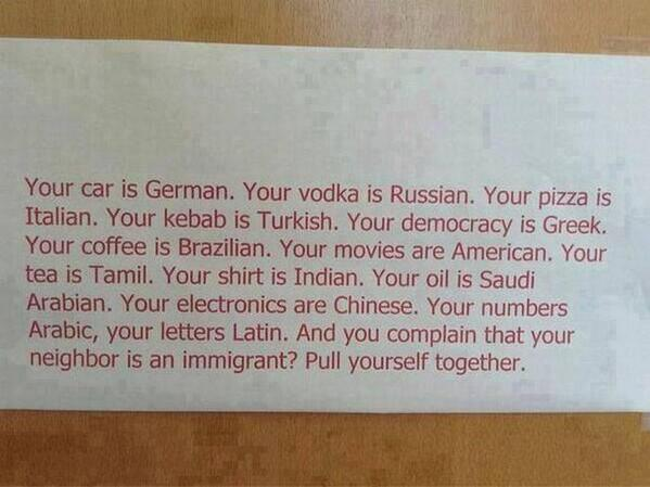 Best thing seen all day, on immigration : http://t.co/m3Ovnz0NFp