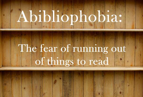 Never worry about this when you work in publishing! RT @groveatlantic: Word of the Week: http://t.co/lPIpvyVFAo