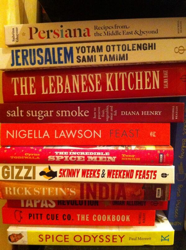 "It has always been a dream of mine to have my own cookbook on my shelves. ""One day..."" I said. Today is that day. http://t.co/hV4x9whZQA"