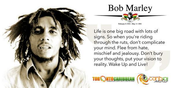 Celebrating the birthday of a legend - Bob Marley Feb. 6 1945. Happy Birthday! http://t.co/1MFUKn71cQ