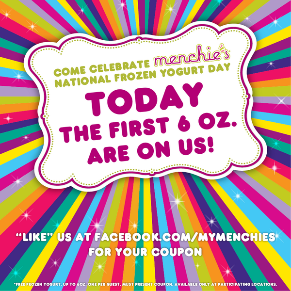 Get FREE Menchie's today for #NFYD14! Get your coupon here http://t.co/NG52ylPurM and come celebrate with us all day! http://t.co/3feJex2fZY