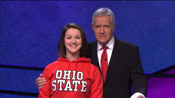 Accounting honors student Maria Khrakovsky will represent @OhioState, Fri 2/14, on @Jeopardy! http://t.co/vBEuqb0ApX http://t.co/njxxRnknJI