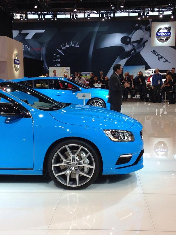 Launching quickest @volvocarsus models at the @ChiAutoShow #FuelCAS http://t.co/QkVx5A7BlA