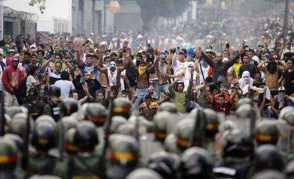 Venezuela, you are not alone! #VenezuelaNoEstaSola http://t.co/7nTNOqhwdz – http://t.co/guRfCgkEXc