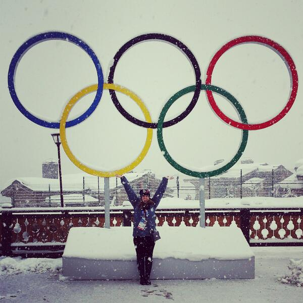 There's finally some snow in #Sochi2014 !! http://t.co/GFCSqpdIdK