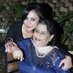 RT @itsBollywood: Pic: @divyadutta25 with her mother at @nkukunoor's film Lakshmi success bash http://t.co/TPN6hIxOxb