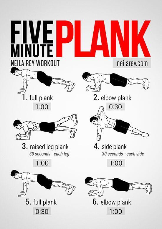 Entrenamiento abdominal completo en 5 minutos, y sin bajar de la plancha! ¿Lo probamos? http://t.co/r3SI6jJnyG