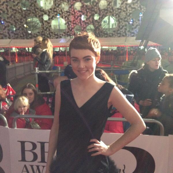 RT @BRITAwards: Critics' Choice Nominee. The one and only @ChloeHowl #BRITs2014 http://t.co/fr42ru8vo3