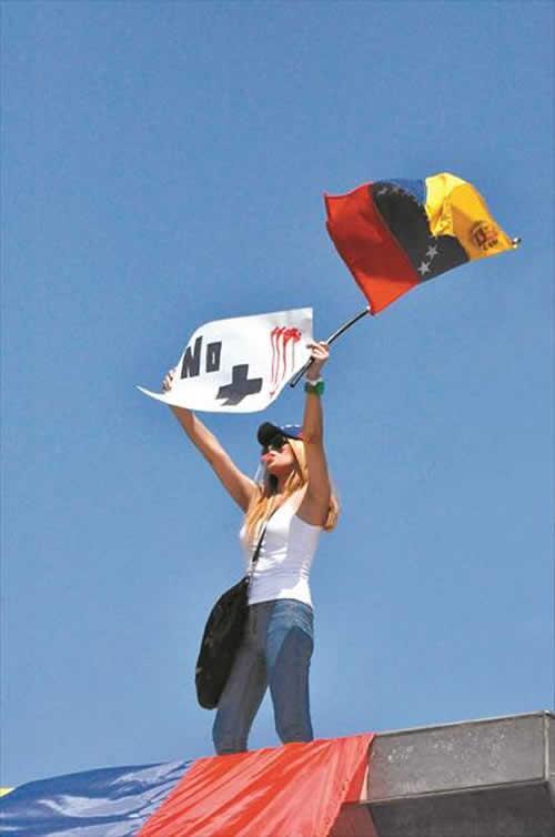 Una pancarta en Venezuela que lo dice todo http://t.co/SMTsvskd9V