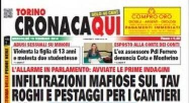 #notav Ho come l'impressione che parlar dei #noa serva ad ignorare notizie tipo quelle in copertina di torino cronaca http://t.co/v3EOZNgwZv