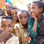 Smiles in Aye Washa village Ethiopia, where #charity: water is making sure clean, safe #water continues to flow. http://t.co/KJ1U55JULU