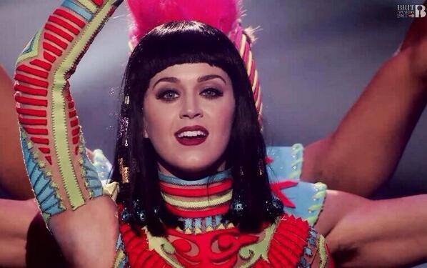 Looks like you got one hairy armpit there, @katyperry