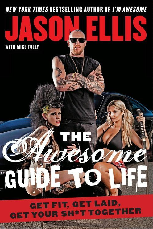 """Pick up @EllisMate's new book """"The Awesome Guide to Living"""" today--> http://t.co/sXbbYW6nNn #electricambassadors http://t.co/kgaLmgdG4t"""
