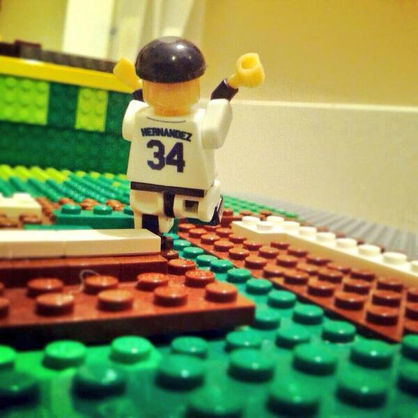 Love The Lego Movie? Don't miss the sequel starring the #FaceofMLB #FelixHernandez. http://t.co/stuBtvQrFI