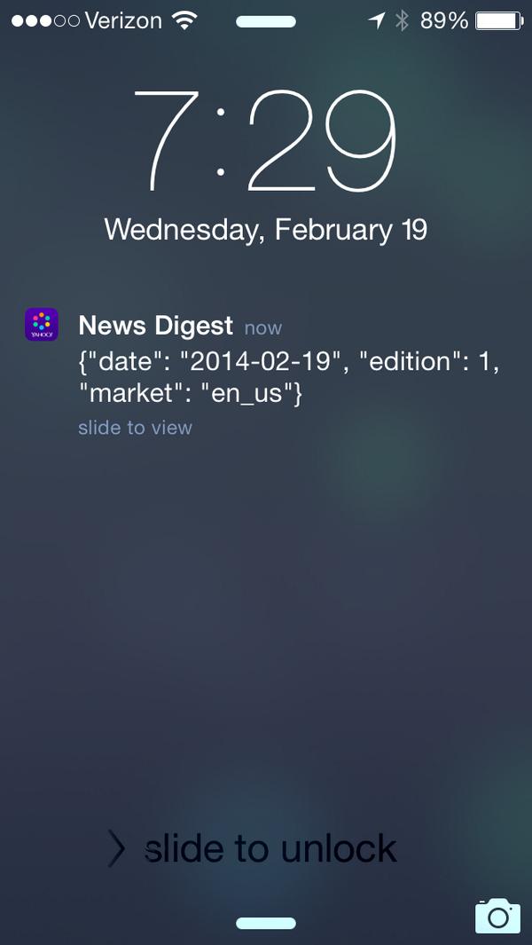 Muy cool Yahoo pero lamentablemente todos no saben leer JSON http://t.co/9VLVf026la