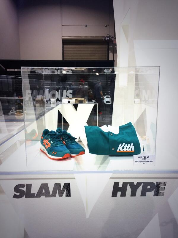 @slamxhype: Best pop up shop for 2013 goes to @kithny for the #ECP project #SlamXAwards @AgendaShow @RonnieFieg http://t.co/4USAHEjvC9