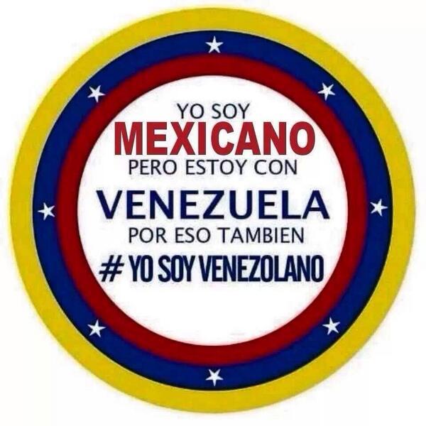 Valeria Marín (@ValMarinR): Ánimo Venezuela!!! http://t.co/UhWn4G8DY0