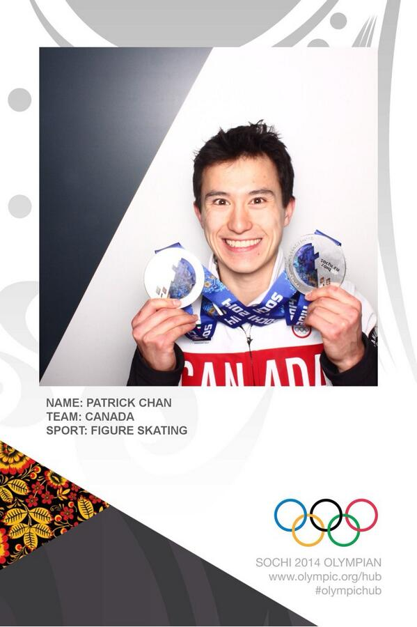 Stopped by the @Olympics photo booth in the village the other day and took this picture! #photooftheday http://t.co/MKqKB0KgBc