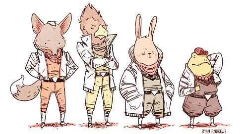 I drew the Star Fox dudes. #nintendo #starfox http://t.co/HSLYxXY7iV