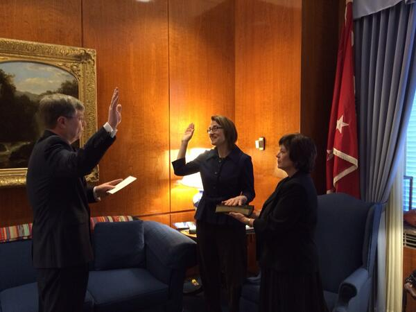 Dr. Sarah Sewall sworn in today as Under Secretary for Civilian Security, #Democracy, and #HumanRights. http://t.co/zU0BGnEi0h
