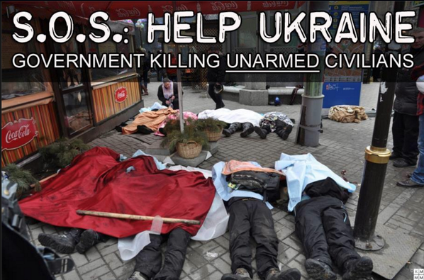 SOS help #Ukraine, unarmed people are killed in the streets, over a hundred shot dead this morning. #digitalmaidan http://t.co/UvJB2O4Xlx