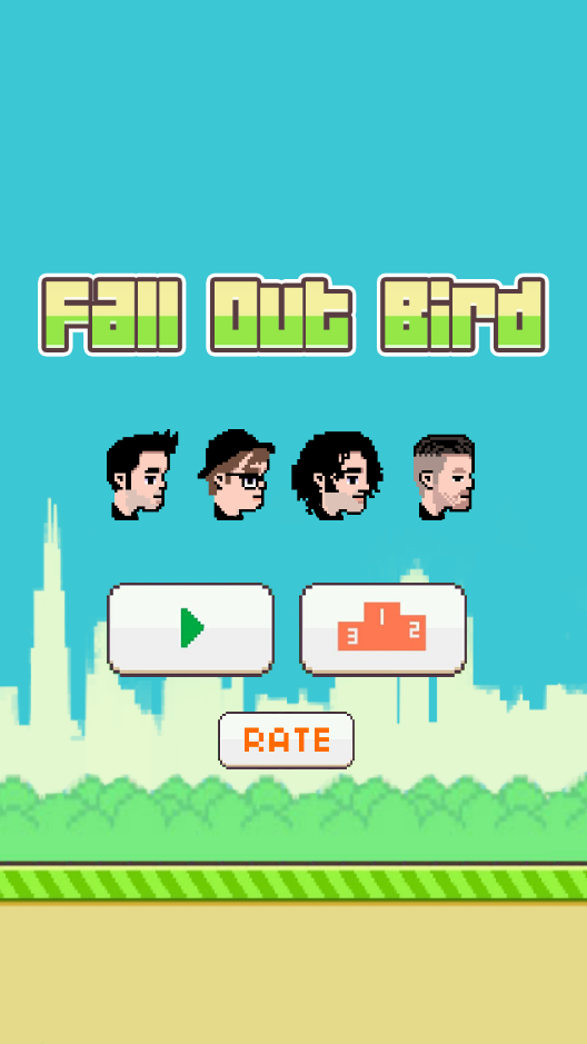 Damn @falloutboy what have you done?!! Fall Out Bird is hilarious! http://t.co/TlM1nFYgkV http://t.co/TgaDJyUMi2