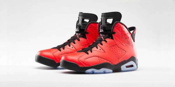 The Air Jordan 6 Retro 'Infrared23' will launch tomorrow at 8am EST. Twitter link only http://t.co/jADrKDGU9c