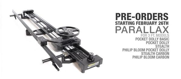 Oh ya... The big day has come! Pre-orders start next Wednesday for Parallax for 3 ft. models! Save the date! http://t.co/VqWYITNC5u