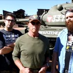 RT @davidheuff: That's right, we filmed @EpicMealTime with Arnold @Schwarzenegger yesterday. http://t.co/YstUsFMHeZ