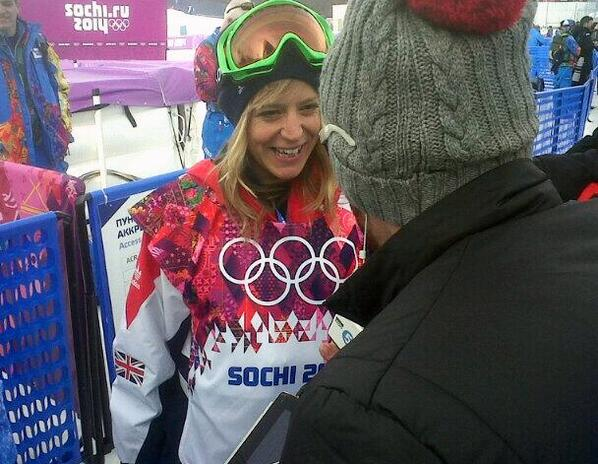 @jennyjonessnow you're a legend!! #Sochi2014 http://t.co/JmrkK2cORp