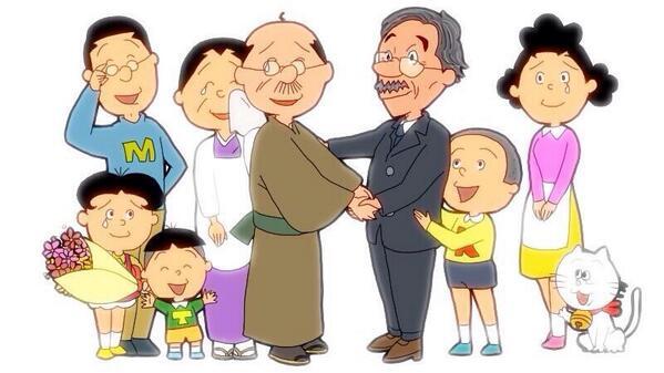 今日のサザエさん、永井一郎さんが45年間演じられた波平、最後の回でした。゚(゚´ω`゚)゚。日本国民みんなのお父さん役で
