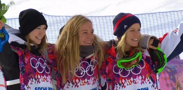 These girls. Champions. #Sochi2014 http://t.co/mi7qJ3gD6l