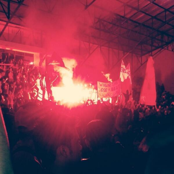 This is unbelievable - #LFC fans in a bar in Bandung, Indonesia yesterday @officialLFC_ID @washalfalah http://t.co/voCejclHFQ