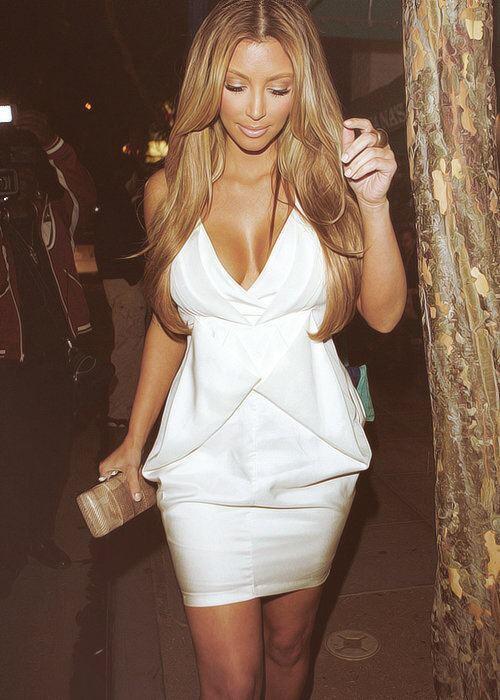 Kim Kardashian is gorgeous