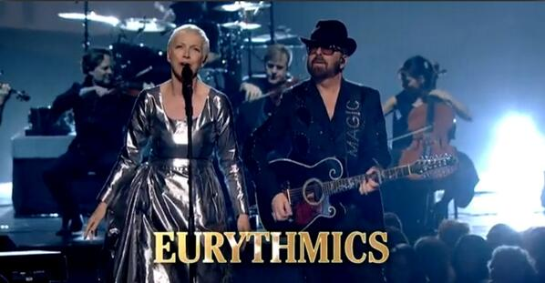 CBS to air Eurythmics performance at The Grammys Beatles tribute this evening. - http://t.co/Y0gtU21BTE http://t.co/bJX8IQlEfX