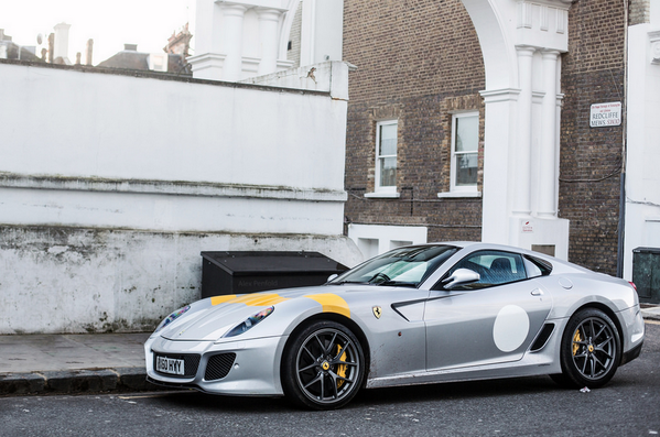.@InsideFerrari gives us an up close look at the lightning fast Ferrari 612 Scaglietti. Photo: Alex Penfold. [pic]: http://t.co/DNFUhb6Fcx