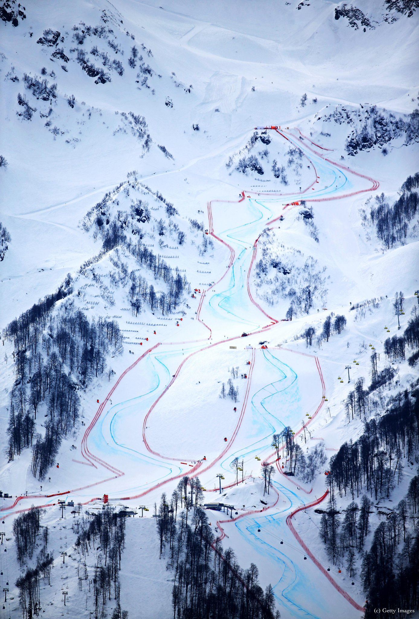 Downhill course #olympics http://t.co/oNzf0vr1uh