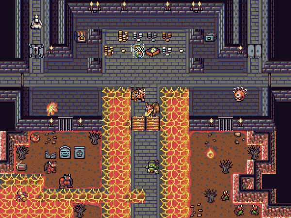 Free 16x16 roguelike tileset: DawnLike by @DragonDePlatino (based on NetHack) http://t.co/C0gC6sBScw http://t.co/bDEdXDTtP5