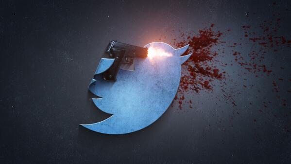 """I received a message that it is not permitted to """"add special effects"""" to the Twitter logo. My bad. http://t.co/mRyBV437Jm"""