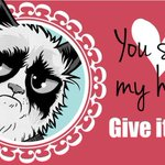 18 Grumpy Cat Valentines for Your Crabby Companion  http://t.co/T60oljipZf http://t.co/u7P2MrN5cE