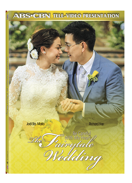 Be Careful with my Heart The Fairytale Wedding now on DVD! Grab your copy now! @micodelrosario http://t.co/OfCySlZ3mL