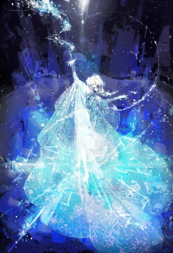 """Amazing Frozen fanart! """"Frozen"""" by Rella - http://t.co/0snDBFnjk0 #pixiv http://t.co/bJ3Uj5lkHq"""