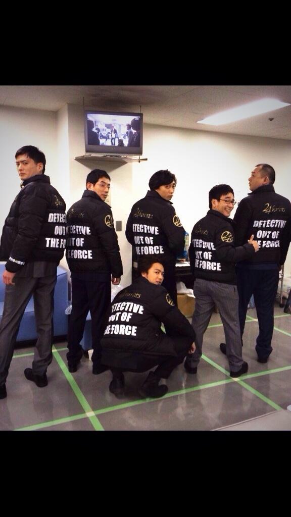 TAKAHIROがデザインしたダウンを「戦力外捜査官」のスタッフ、演者、全員にTAKAHIRO本人がプレゼントしてくれた!!  ドラマ史上ここまでのプレゼントは前例にないらしい  すごない? どてらい男や。。。  ありがとう http://t.co/wcbkpAhD2P