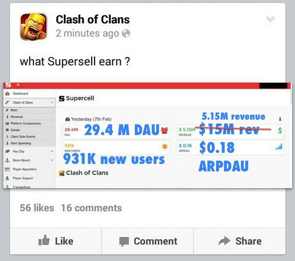 [Breaking news]Exclusive interview with hacker of Clash of Clans FB. Read on here: http://t.co/wXZbmpdc8h http://t.co/406I93mjzJ