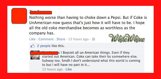 Man, that Superbowl Coke commercial really gave our nation's dumbasses something to argue about. http://t.co/u7kAeDfNMq