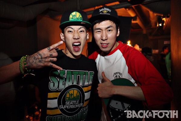 Jay Park and Dj Pumkin #BACKNFORTH @JAYBUMAOM @pumkin2k http://t.co/g7bWOCiHcL