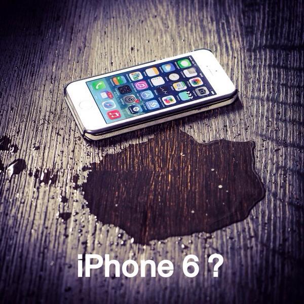 """""""เเหล่งข่าวเเจ้งไอโฟนหกไม่มีเเน่.. เพราะไอโฟนไม่ใช่นํ้า"""" #q4th #gadgets http://t.co/Q4dRJo1sCL"""